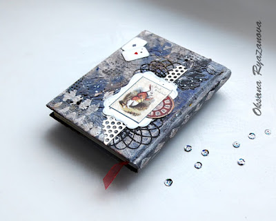 белый кролик, Льюис Кэролл, Алиса, ручная работа, подарок, купить блокнот