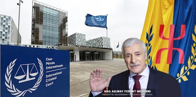 فرحات مهني المحكمة الجنائية الدولية