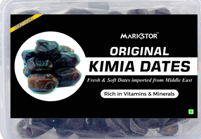 Markstor Original Kimia Dates - Fresh & Juicy Dates -500g