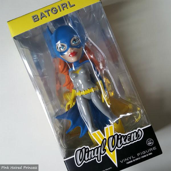 Funko Vinyl Vixens DC Comics Superhero Batgirl figure boxed