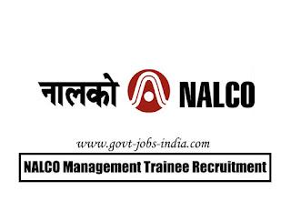 NALCO MT Recruitment 2020