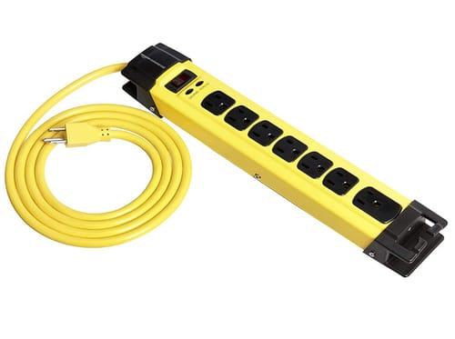 AmazonCommercial Heavy Duty Metal Surge Protector