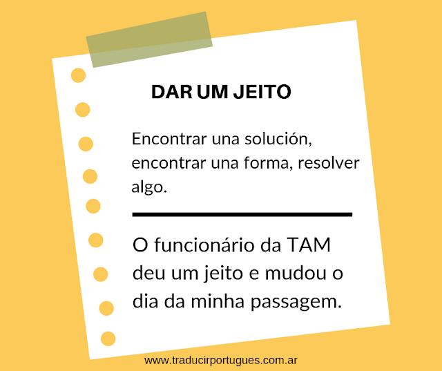 Expresiones idiomáticas en portugués de Brasil