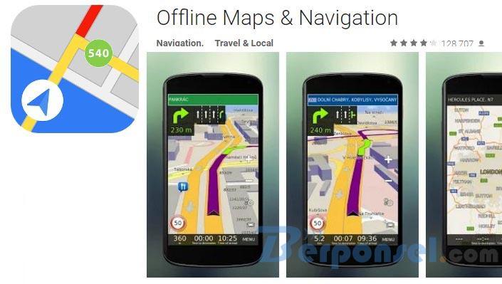 Aplikasi Android GPS Online dan Offline Terbaik 2016