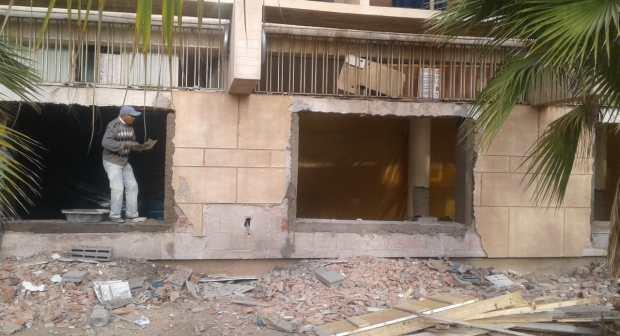 """""""تخريب"""" مجلس المدينة للمبنى التاريخي لبلدية أكادير يصل قبة البرلمان"""