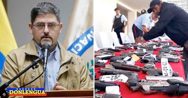 ALÓ COQUI | Régimen perdonará los delitos a los delincuentes que entreguen todas sus armas