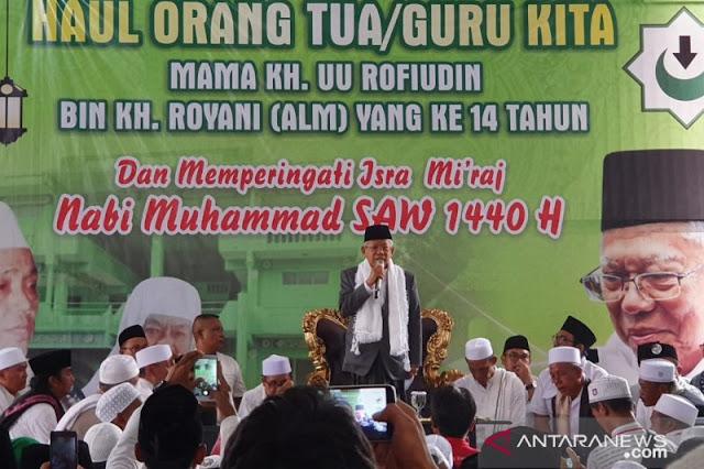 Ulama Bogor, Cianjur, Sukabumi deklarasi dukungan untuk Jokowi-Kiai Ma'ruf