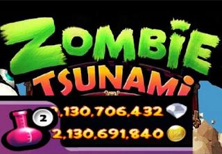 Zombie Tsunami Mod Unlimited Gold