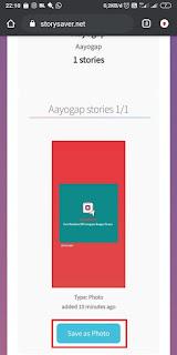 Cara Download Instastory Tanpa Aplikasi- Storysaver2