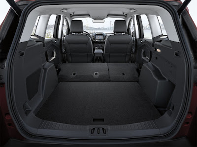 2018 Ford Escape Cargo Area