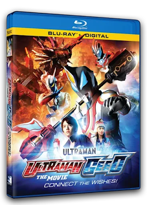 Bluray Review - Ultraman Geed: The Movie