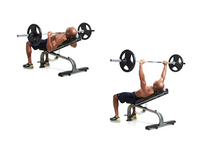 Incline Barbell Bench Press / Upper Chest Workout