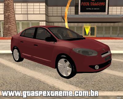 Renault Fluence 2011 para grand theft auto