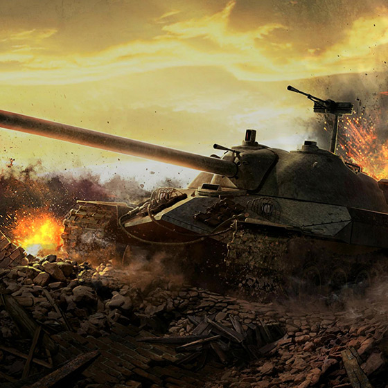 IS-7 Tank Wallpaper Engine