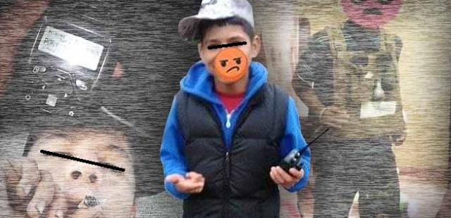 """""""El Danielito"""" niño halcón del Cártel del Noreste que patrulla Nuevo Laredo soñando ser de """"Las Tropas del Infierno"""""""