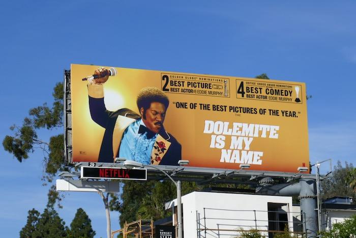 Dolemite Is My Name 2 Golden Globe nominations billboard