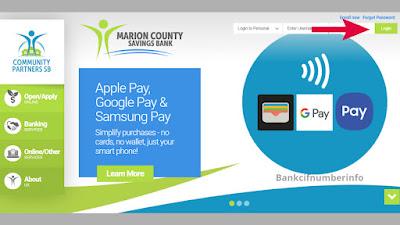 Login to Marion County Savings Bank
