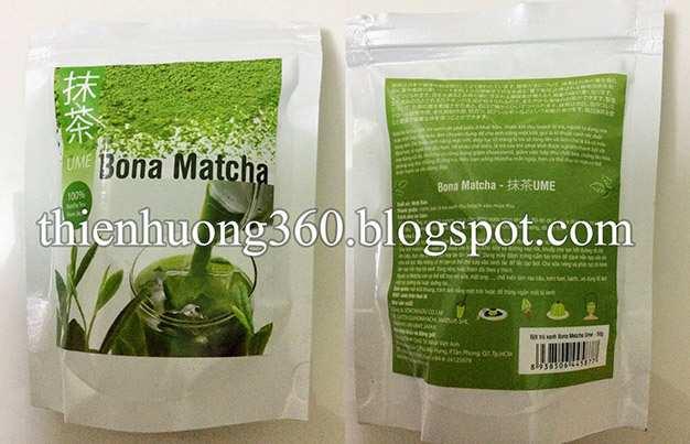 Bột trà xanh 50g, xuất xứ Nhật bản