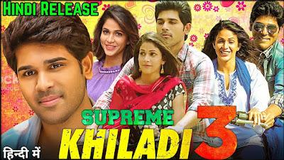 Supreme Khiladi 3 Full Movie in Hindi Dubbed Download 480p Filmywap
