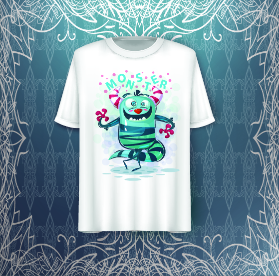 Monster Girly T Shirt