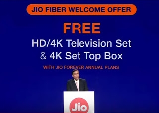 jio fiber jio set top box price