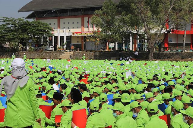 Hari Pertama PBAK UIN Walisongo Semarang 2019