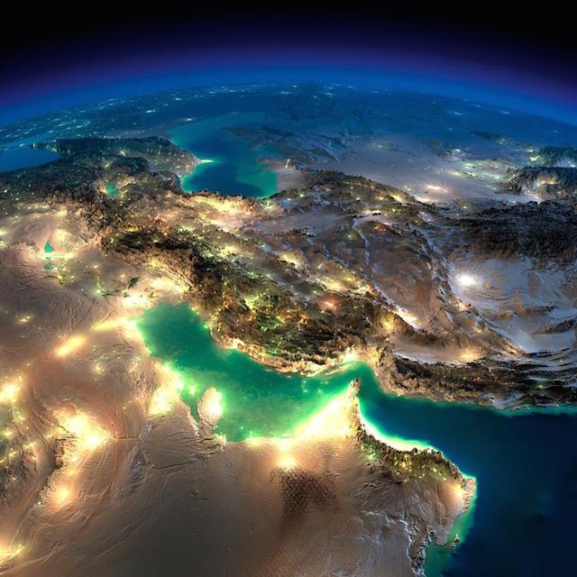 صور مذهلة للأرض التقطت ليلاً من الفضاء الخارجي بواسطة وكالة الفضاء الأمريكية ناسا 5