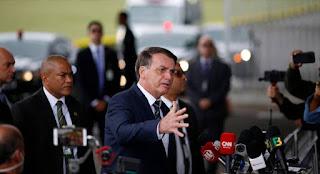 """""""Espero que essa seja a última semana dessa quarentena"""", diz Bolsonaro"""