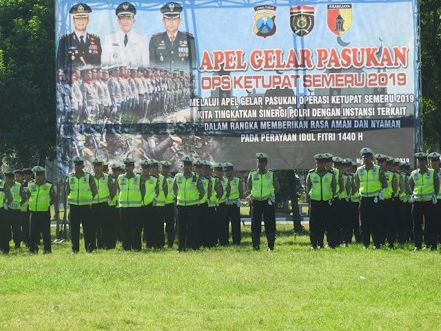 TNI/Polri di Ngawi Pastikan Kesiapan Pengamanan Idul Fitri