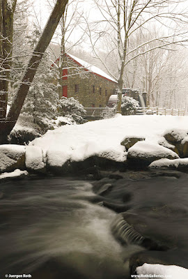 Winter Sudbury Grist Mill