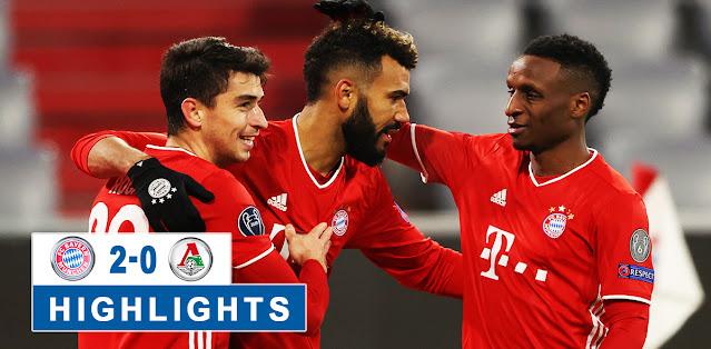 Bayern München vs Lokomotiv Moskva – Highlights