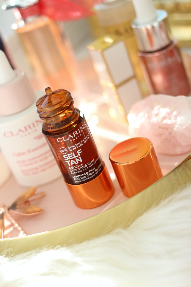 Clarins Self Tan Glow Booster & Milky Lotion
