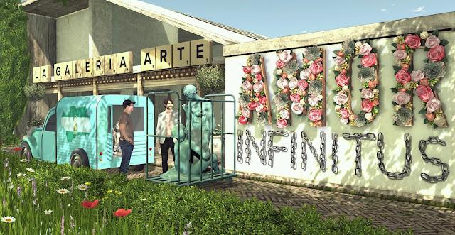 Amor Infinitus Exhibición