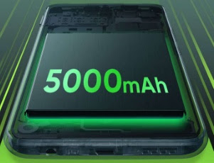 Kapasitas baterai Xiaomi redmi 9A dan redmi 9C