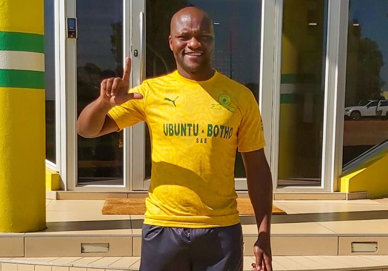 Mamelodi Sundowns forward Tokelo Rantie