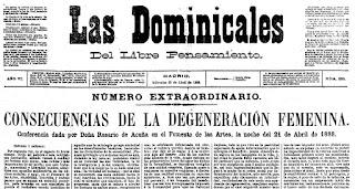 Fragmento del texto de la conferencia publicada en Las Dominicales del Libre Pensamiento