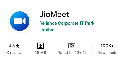 Jio Meet app download