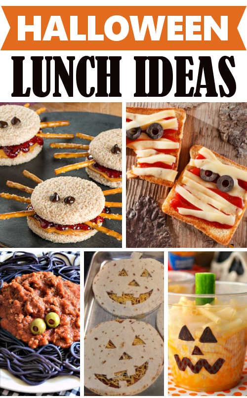 diy home sweet home fun halloween lunch ideas