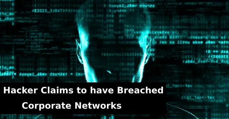 corporate networks  - Corporate 2Bnetworks - Hacker on Underground forums Claims to have a Corporate Networks