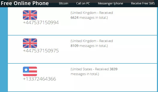 Situs Terbaik untuk Menerima SMS Online Untuk Verifikasi Akun-10