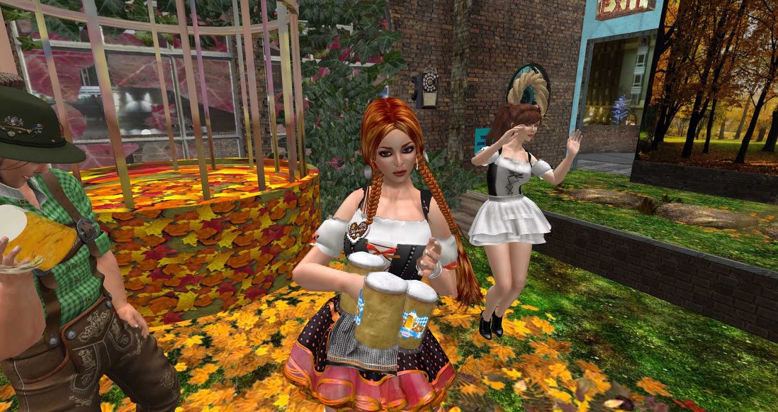 Virtually London (lite): Beer and Falling Leaves at the ...