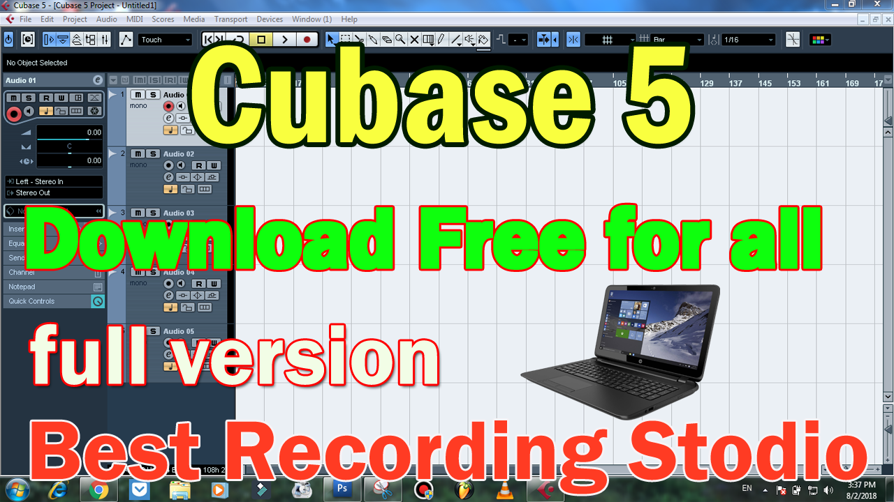Cubase 5 Free Download Full Setup Best Recording Softwear