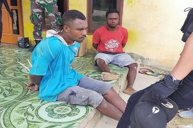 Ini Wajah 2 Terduga Pelaku Penyerangan Posramil yang Tewaskan 4 Prajurit TNI di Papua