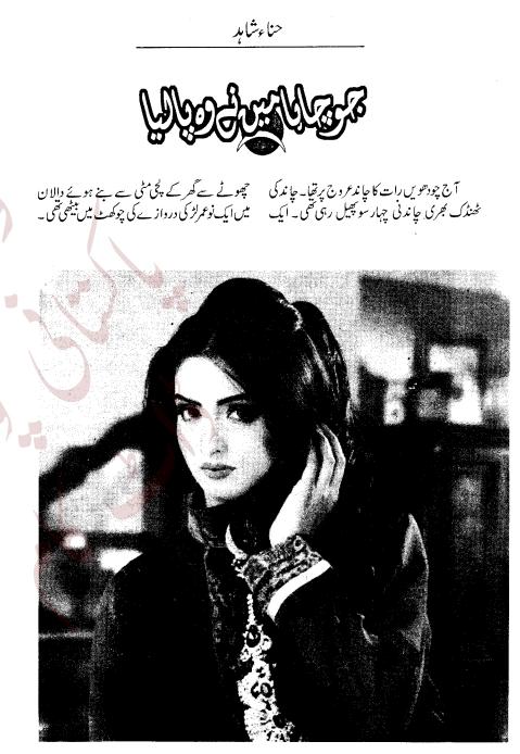 Free online reading Jo chaha mene wo pa lia novel by Hina Shahid