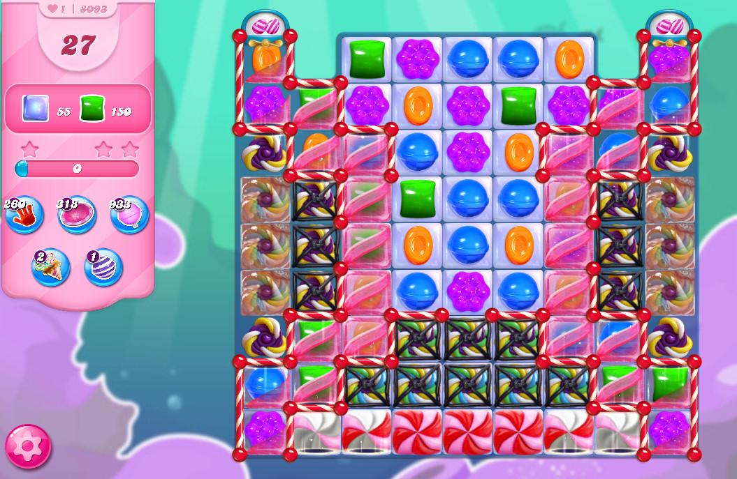 Candy Crush Saga level 8093