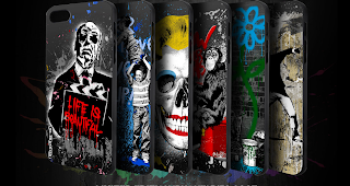 StreetArt als Handycover für iPhone 5/5s - Mr. Brainwash Creative Limited Edition #mehrfuerdich
