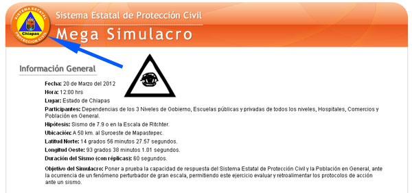 El Sismo de 7.9 grados en México coincidio con el Mega simulacro