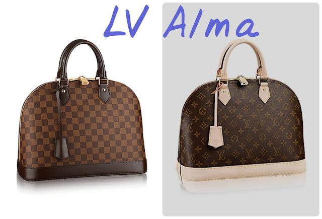 model Alma kuferek Louis Vuitton jaka cena? ile kosztuje?