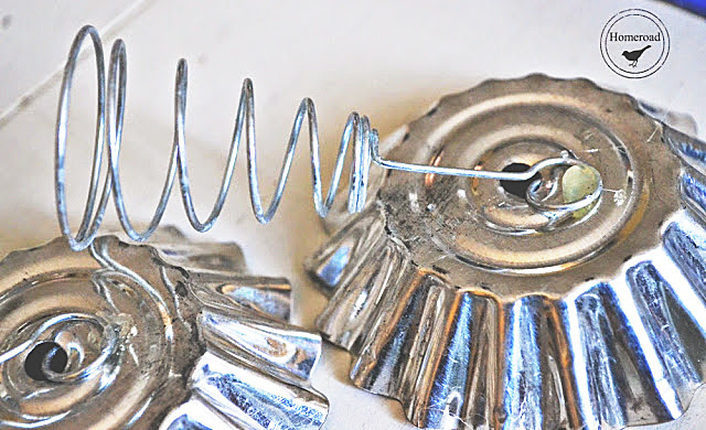 Vintage Tart Tin Angel Ornaments