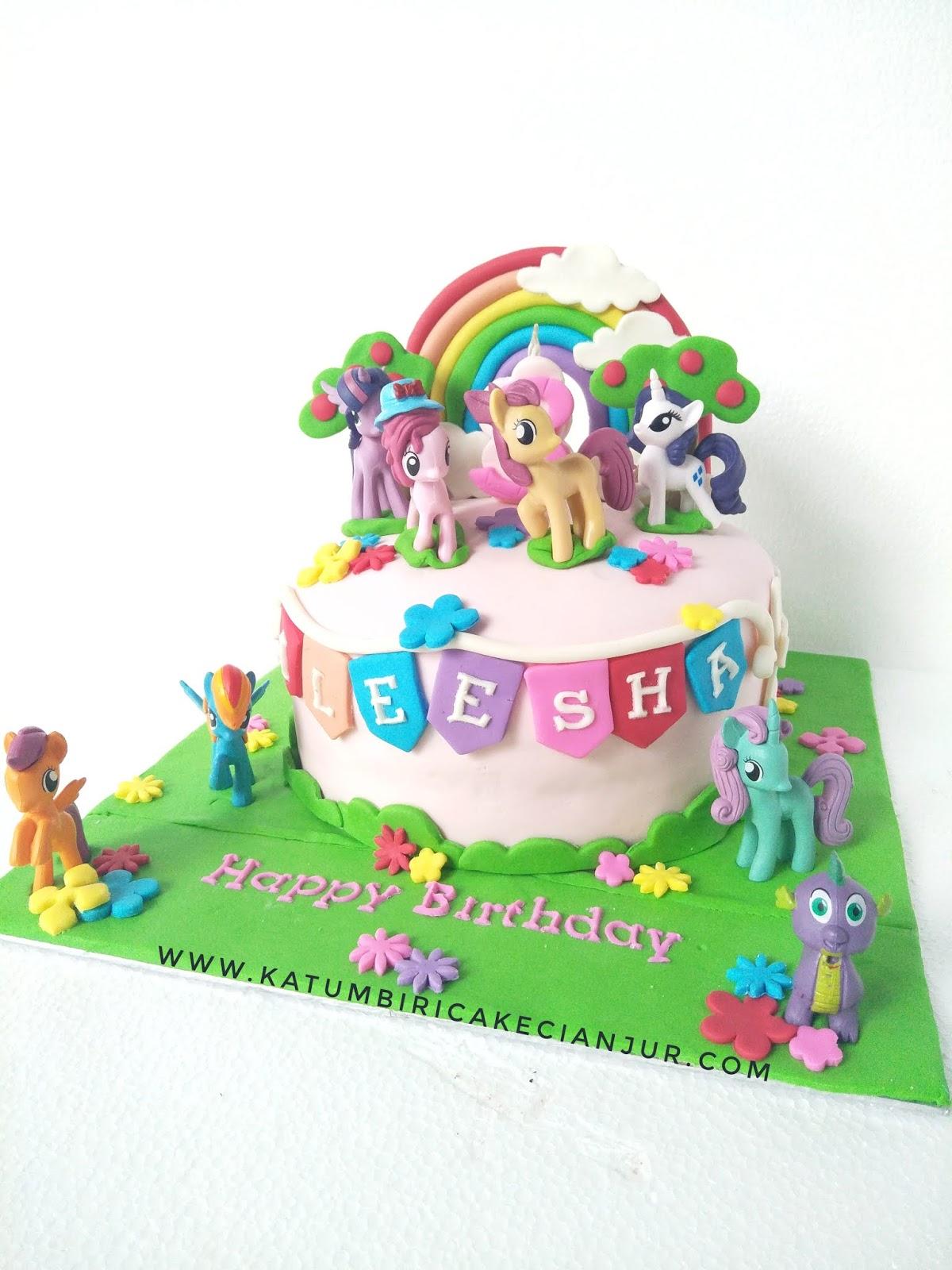 Katumbiri Custom Cake Cianjur Kue Ulang Tahun My Little Pony